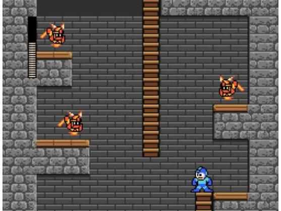 Mega Man kämpft sich an seinem 25. Geburtstag durch acht neue Level.