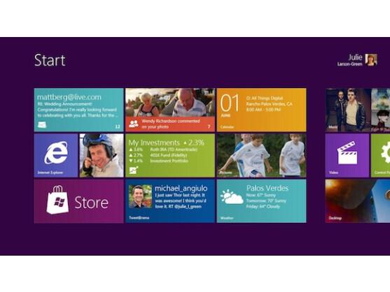 Das neue Firefox-Design orientiert sich an der Windows 8 Metro-Oberfläche.