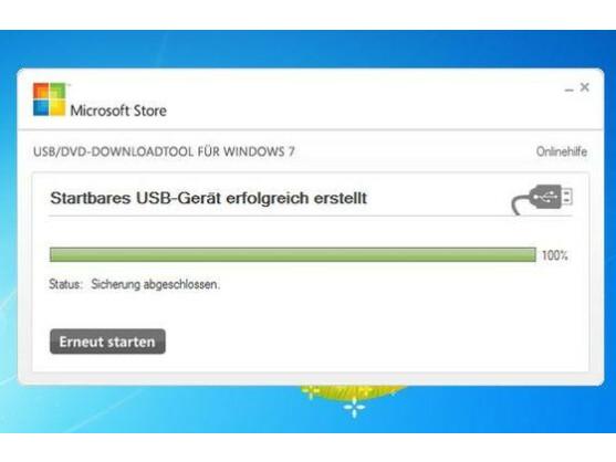 Das Microsoft-Tool hilft beim Erstellen des USB-Sticks.