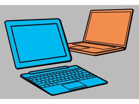 Es muss nicht immer das Notebook sein: Für manche Anwender erfüllt ein Tablet-PC mit ansteckbarer Tastatur den Zweck viel besser.