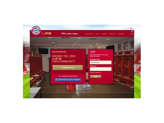"""MyFCB ist das Facebook für die Fans des FC Bayern. Statt """"gefällt mir"""" heißt es hier """"guad""""."""