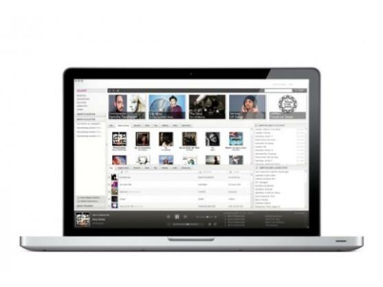 Neben anderen Geräten ist WiMP auch auf dem Mac zu Hause.