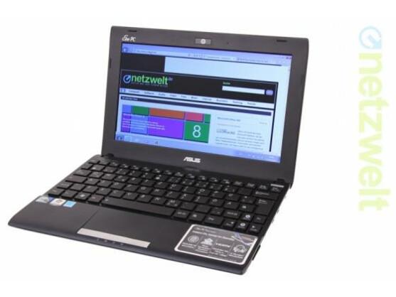 Ein Netbook: Asus EeePC 1025C