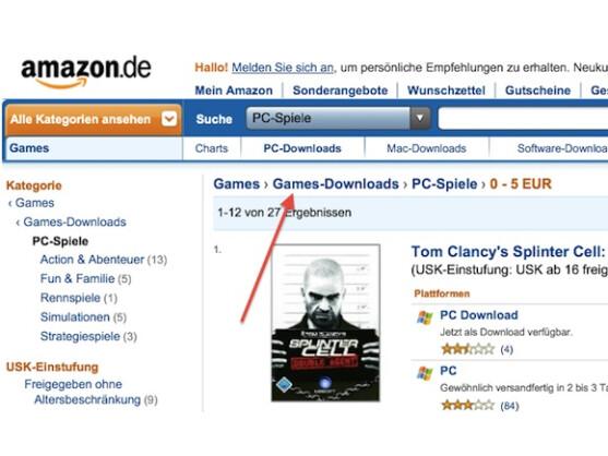 Netzwelt nimmt den neuen Amazon Web Store unter die Lupe.