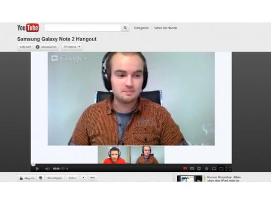 Die netzwelt-Sprechstunde als Stream bei Youtube.