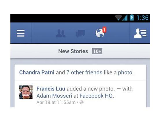 Die neue Facebook-App soll zweimal schneller sein als ihr Vorgänger.