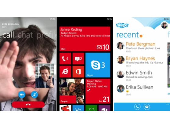 Die neue Skype-Vorabversion in all ihren Facetten.