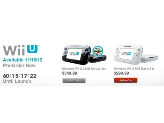 Die Premium-Variante der Nintendo Wii U ist schon in vielen Online-Shops ausverkauft.