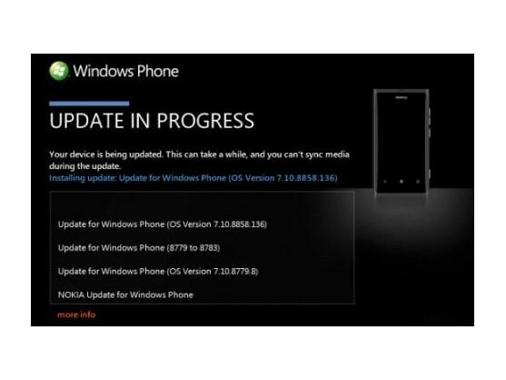 Nokia hat offenbar mit der Veröffentlichung des Windows Phone 7.8-Updates begonnen.
