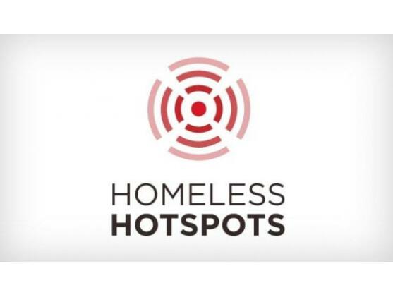 Die Obdachlosen-Hotspots sind ein wohltätiges Experiment auf einer Technologie-Konferenz in Texas.