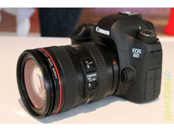 Photokina-Neuheit: Canon EOS 6D