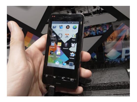 Polaroid stellt mit der SC1630 eine der ersten Digitalkameras auf Android-Basis vor.