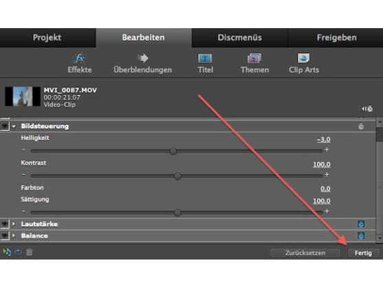 Premiere kann Helligkeit, Kontrast und Co. mit wenigen Klicks optimieren.