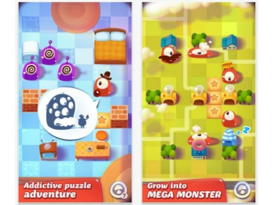 Die Pudding Monsters sind los - zumindest schon in iOS.