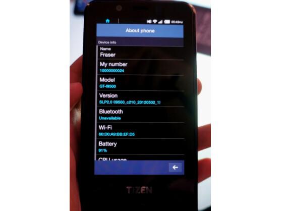 Einen Prototyp für Entwickler gibt es schon, nun sollen 2013 weitere Tizen-Smartphones von Samsung folgen.