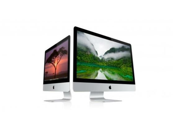 Der Rand der iMacs misst streckenweise nur fünf Millimeter. Wie dick der Rest ist, verschweigt der Hersteller bislang noch.