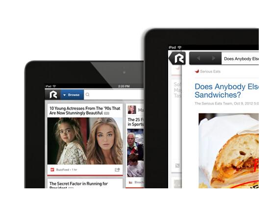 Vom RockMelt-Browser gibt es jetzt auch eine iPad-Version