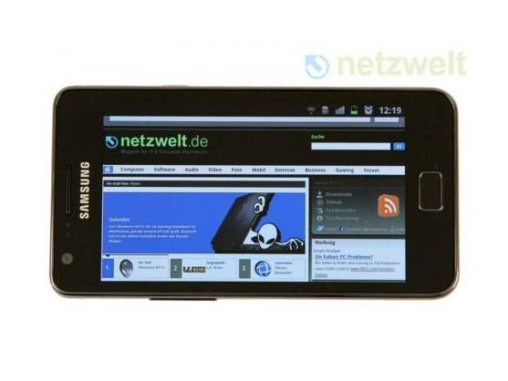 Das Samsung Galaxy S und das S2 (im Bild) wurden zusammen über 50 Millionen Mal verkauft.