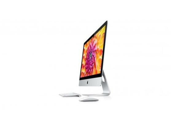Schön schlank: Die neue Generation der iMacs hat zwei kein Retina-Display, ist dafür deutlich flacher geworden.
