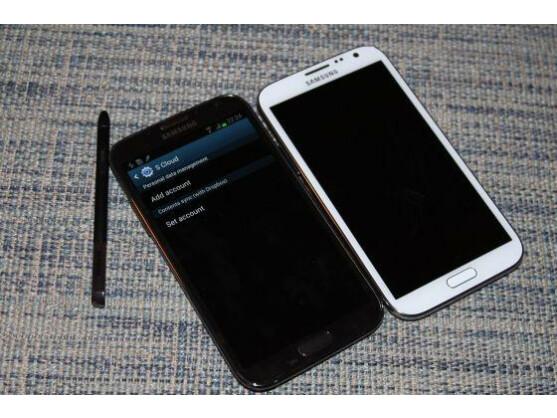 Die SCloud war auf dem Galaxy Note II bereits funktionsfähig.