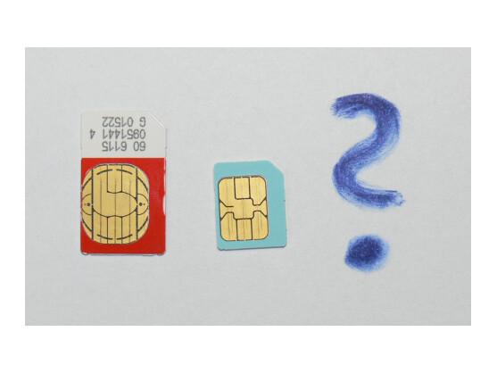 SIM, Mikro-SIM und dann? Um den Nano-SIM-Standard ist ein Streit zwischen Handy-Herstellern entbrannt.