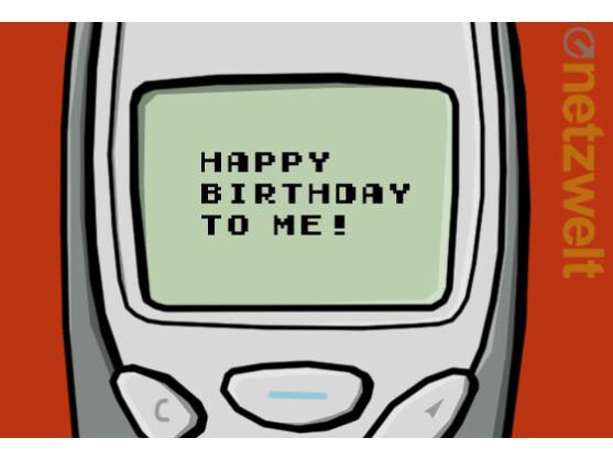 Die SMS feiert ihren 20sten Geburtstag. Netzwelt gratuliert.