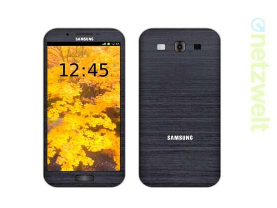 So könnte das Galaxy S4 aussehen.