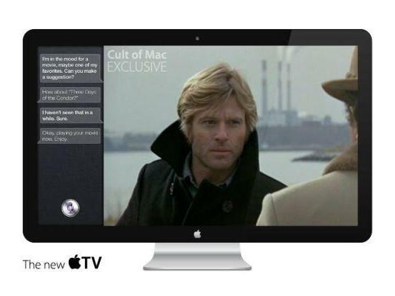 So könnte der Apple iTV aussehen.