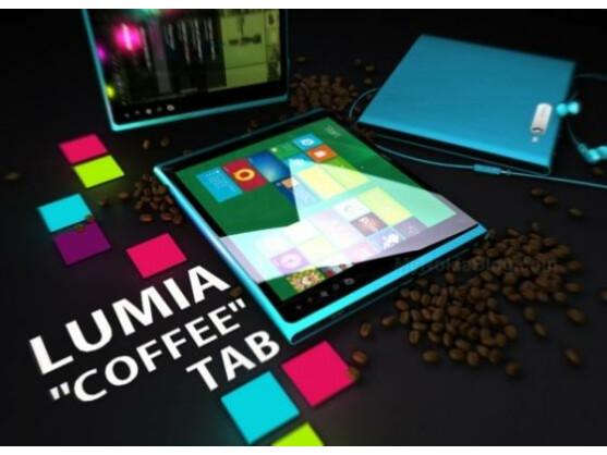 So könnte ein Lumia-Tablet von Nokia aussehen.