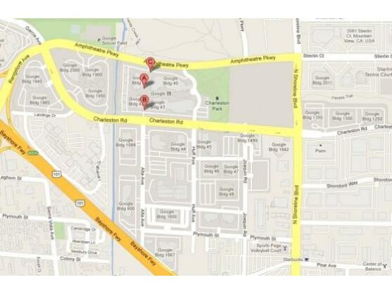 Im sogenannten Googleplex im kalifornischen Mountain View befindet sich der Hauptsitz des Unternehmens.
