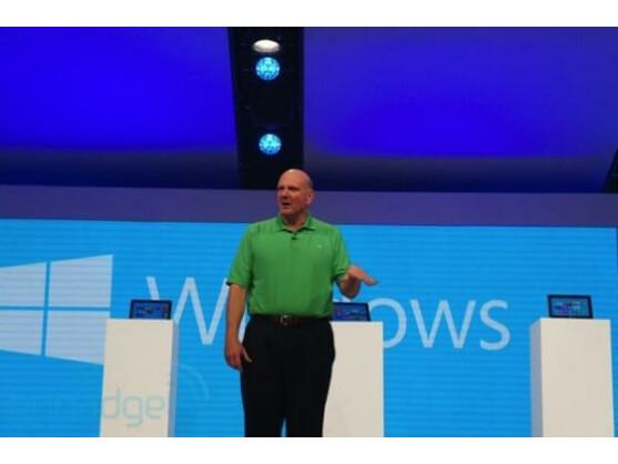 """Steve Ballmer auf der """"Build"""" Entwickler-Konferenz 2012"""""""
