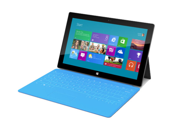 Surface: Microsofts erster Tablet-PC mit Windows 8.