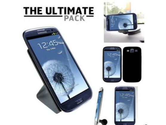 The Ultimate Pack enthält verschiedene S3-Accessoires.