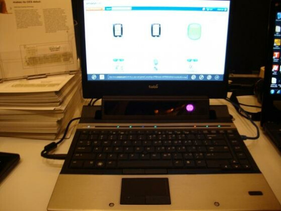 Tobii Technology präsentierte seine Augensteuerung bereits auf der CES 2012.