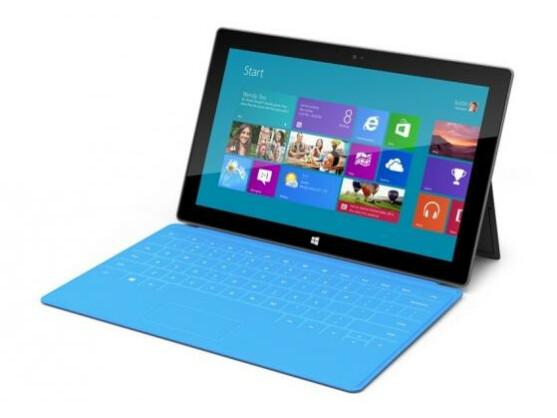 Das Touch Cover ergänzt die Surface-Tablets von Microsoft um eine Tastatur.