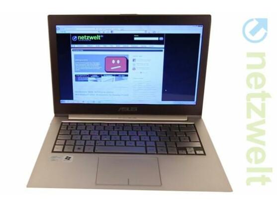 Typisches Ultrabook: Asus Zenbook UX31.