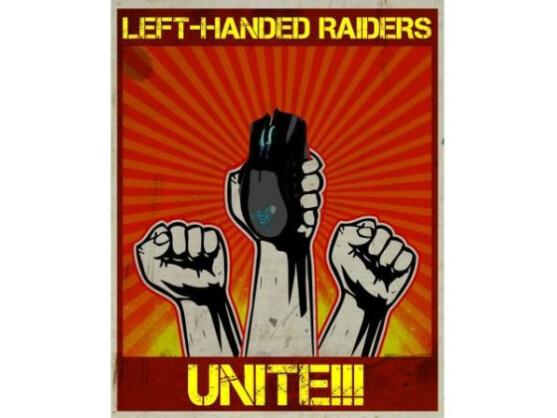 Über 10.000 Nutzer stimmten in kurzer Zeit für eine Razer Naga für Linkshänder.