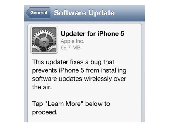 Das Update auf Version 6.0.1 bringt die Over-the-Air-Updatefunktion zurück.