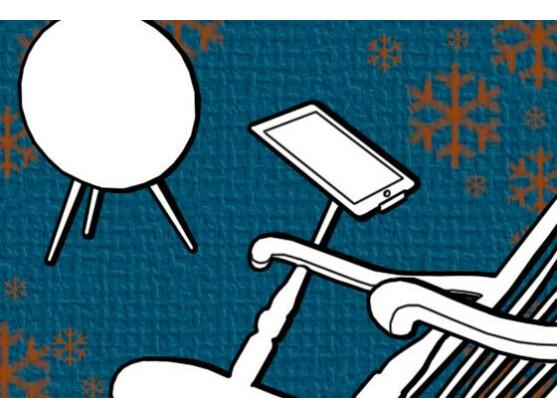 Wer viel Geld hat, interessiert sich vielleicht für teure Technik-Weihnachtsgeschenke - etwa einen iPad-Schaukelstuhl.