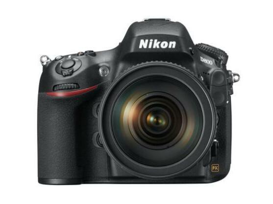 Ein wahres Megapixel-Monster: Die Nikon D800 nimmt Bilder mit maximal 36,3 Megapixeln auf.