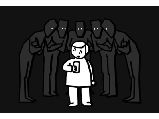 Ein Viertel aller Jugendlichen hat Cybermobbing im eigenen Umfeld erlebt.
