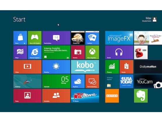 Erste Geräte mit Windows 8 sollen Gerüchten zufolge im Oktober auf den Markt kommen.
