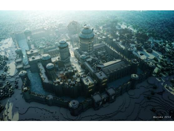 Winterfell in Minecraft