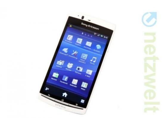 Das Xperia arc S gehört zu den ersten Xperia-Smartphones, die ein Update auf Android 4.0 erhalten.