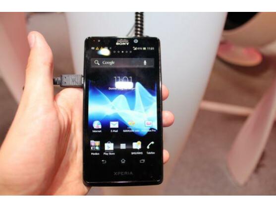 Das Xperia T ist Sonys neues Vorzeigemodell.
