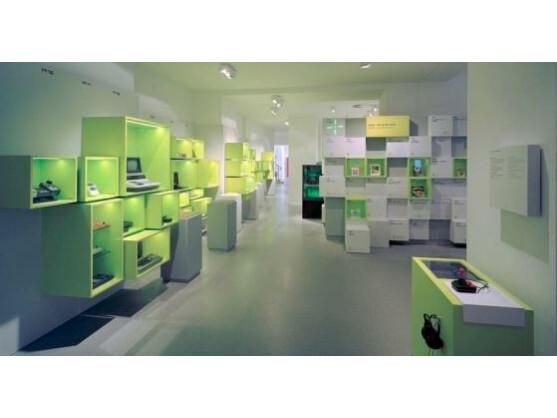 Zahlreiche Ausstellungsstücke warten im Computerspielemuseum.