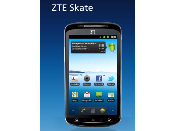 Das ZTE Skate ist ab sofort bei O2 erhältlich.