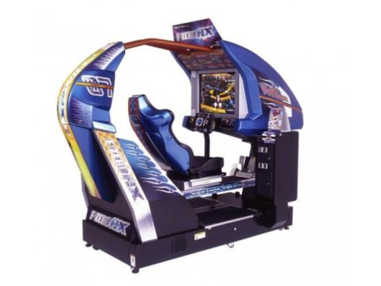 Das ist er, der F-Zero AX-Automat.
