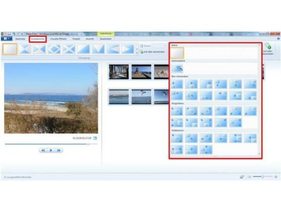 windows movie maker aus fotos sch246ne videos erstellen