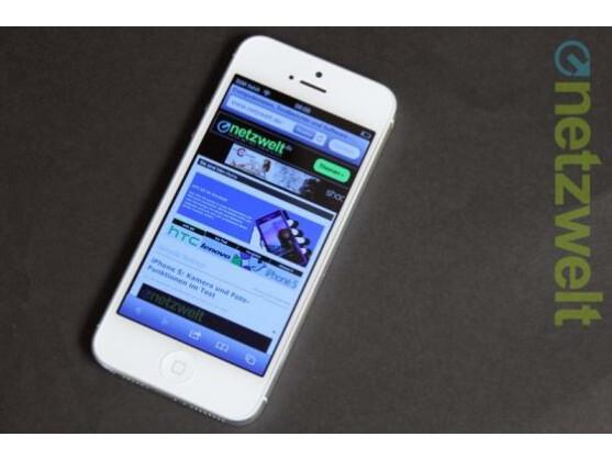Im iPhone 5 (Bild) arbeitet ein A6-Chip. Den A9-Chip im iPhone 7 soll Samsung liefern.